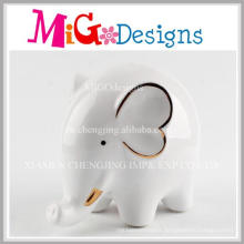 Adorable Customed Elephant Piggy Cans for Kids Decoration